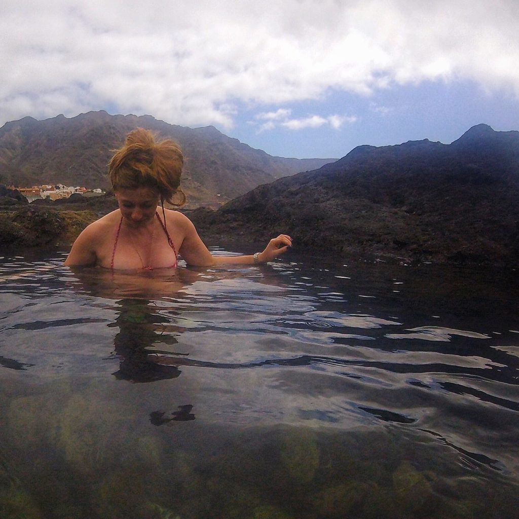 Rock pools in tenerife - Food Goblin
